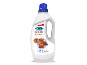 Hardwood and parquet floor cleaner