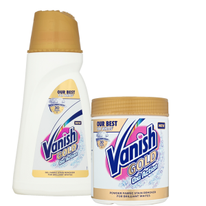 Vanish gold oxi white