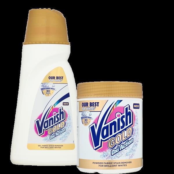 Vanish gold oxi white